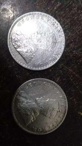औल्ड चॉदी का सिक्का 108 साल पुरानी चॉदी