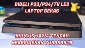 Mari Hubungi kami, Siap Angkut PS3/PS4/TV LED/Laptop Second Anda