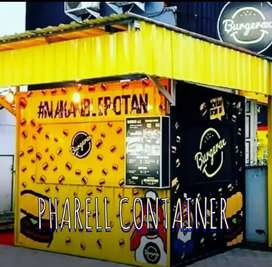 JASA PEMBUATAN BOOTH, CONTAINER CAFE, BOOTH RESTO KEDAI KOPI CONTAINER