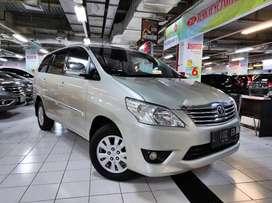 Toyota kijang innova Inova 2.5 G matic AT diesel 2012 pmk 2013 silver