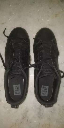 ADIDAS NEO SNEAKERS BLACK SIZE 10 India