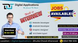 Web Developers Required in Software Company