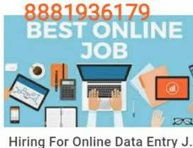 Hiring for back office excutive part time hone based work