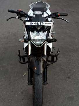 Fzs full white good look silent bike