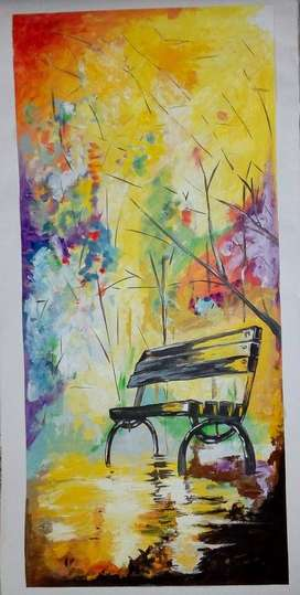 Oil paintings for interior decoration