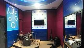 peredam suara studio musik dan recording