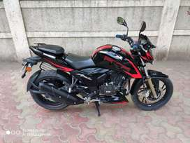 2019 RTR 200 APACHE ABS. SINGLE OWNER..ONLY 4500 KMS RUN..4 YEAR INS