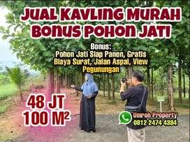 Investasi Untung Tanah Pinggir Jalan Legalitas SHM di Bogor Timur