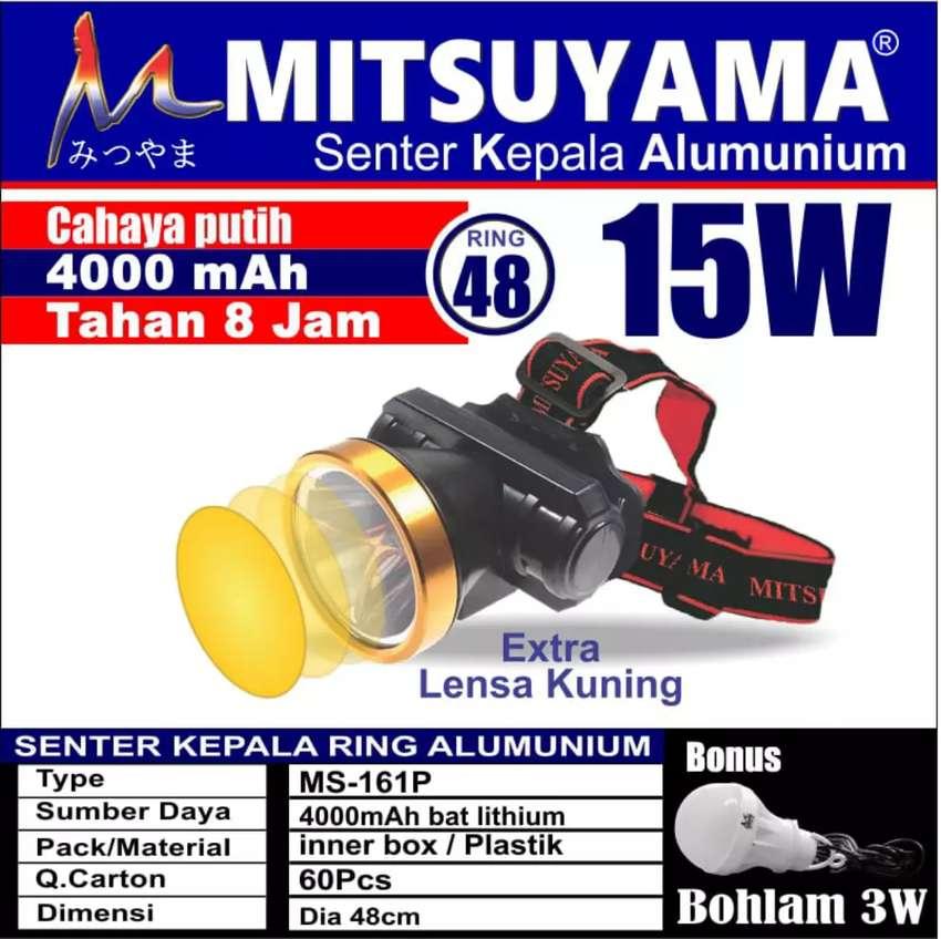 Senter kepala alumunium 0