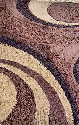 Used brown Rug