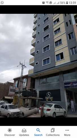 We have 1,2,3,and 4 bed apartment in saif height University road