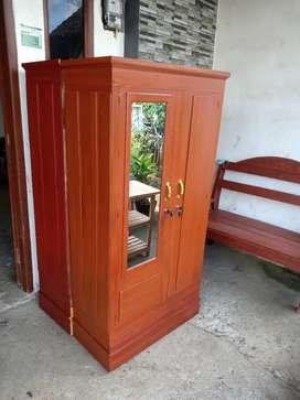Lemari kayu ( full kayu ) .sda
