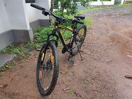 Urban terrain bycycle