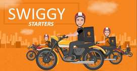 wanted delivery boys without Bike IN SWIGGY