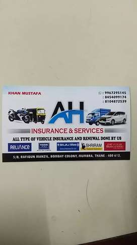 All kind of vehicle insurance