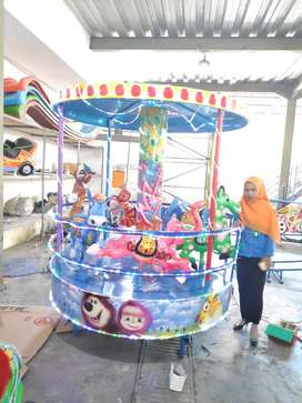 AGM pasir ajaib kinetik komedi safari kereta odong odong murah