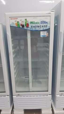 Promo Kredit 3 Mnt Gratis DP Gratis 1x Cicilan Freezer Sharp SCH190PS