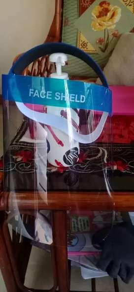 Jual face shield murah buat dewasa dan anak