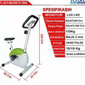 Ready Sepeda Statis Magnetic TOTAL