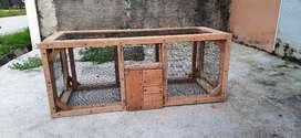 Kandang Kucing (kayu)