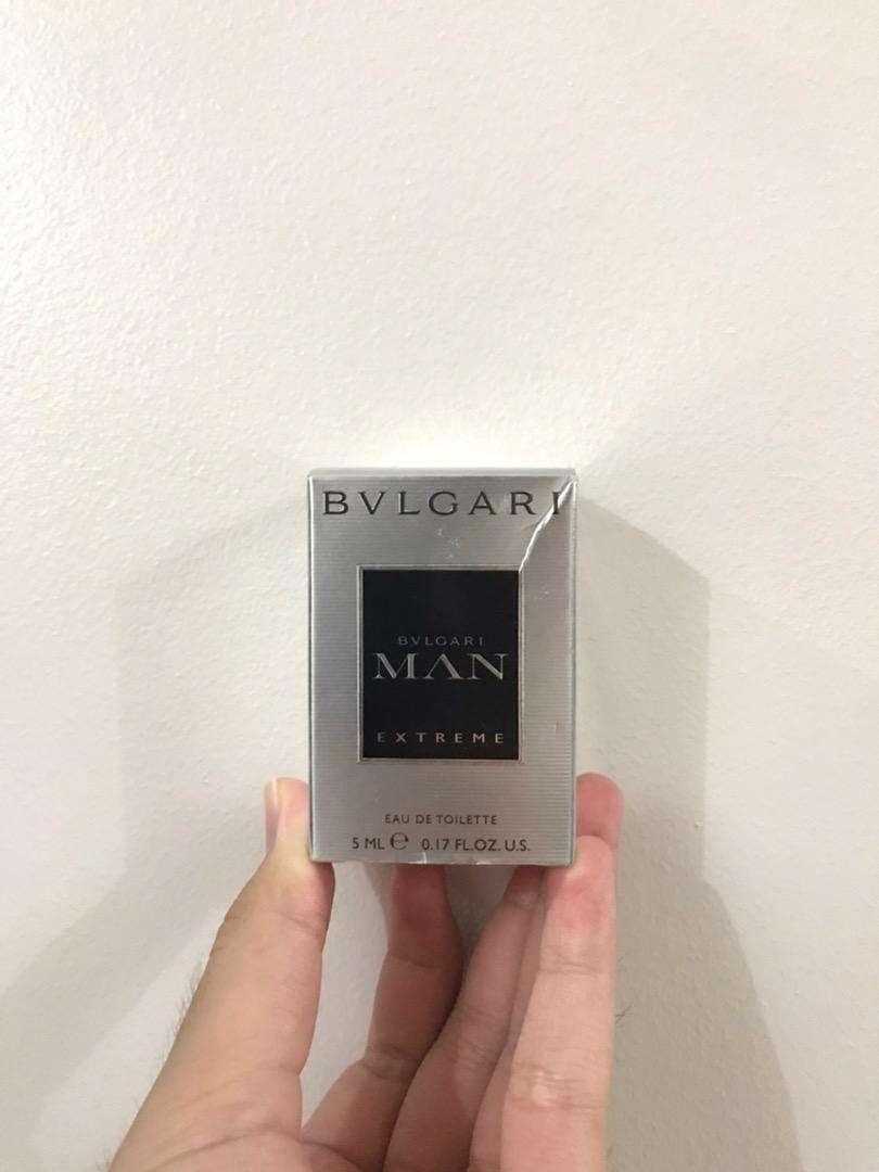 Parfum BVLGARI man's Extreme 0