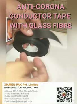Electric Conductor Tape (AntiCorona Tape) for Genset Coils.