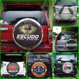 Terios Jeep Sahara Cover Ban Serep Rush Escudo Sarung Ban Taruna 44a