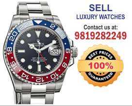 Seller for Rolex GMT Breitling, Audemars,Vacheron, Omega Watch buyers