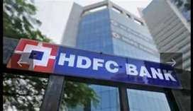 Needs for employees in hdfc bank urgently male driving  candidate