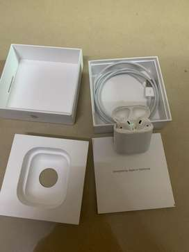 Apple airpods 2 original with bill box