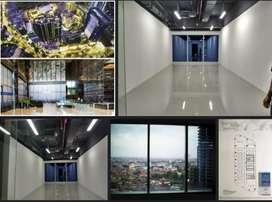 Disewakan Office Tower Siap Pakai,  keramik, dll Cocok untuk kantor