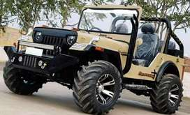 Jeep dashing look monster tyres