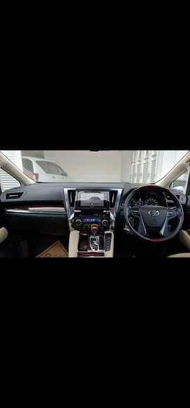 Toyota Alphard 2017 Bensin
