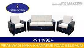 Box sofa 3+1+1 its brand new