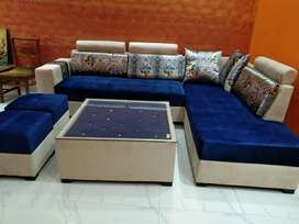 7 seater sofa set(center table included)