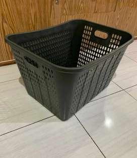Keranjang baju , keranjang laundry plastik