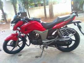 Bike in good condition with new MRF tyres and new battery