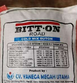 Cold paving hot mix asbuton 25kg