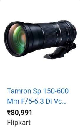 Temron SP 150-600 mm F/5-6.3 Di VC USD