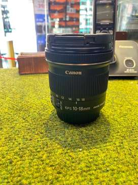 Latest Canon 10-18 IS STM Lens (Brand New Like - Scratchless piece)