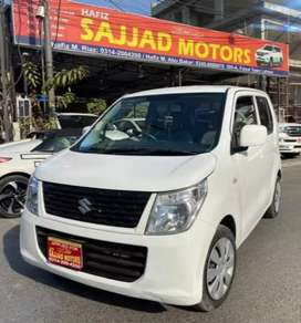Suzuki WagonR FX Ene Charge Semi Hybrid White Colour