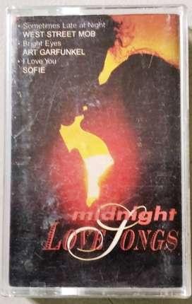 Kaset Midnight Love Songs