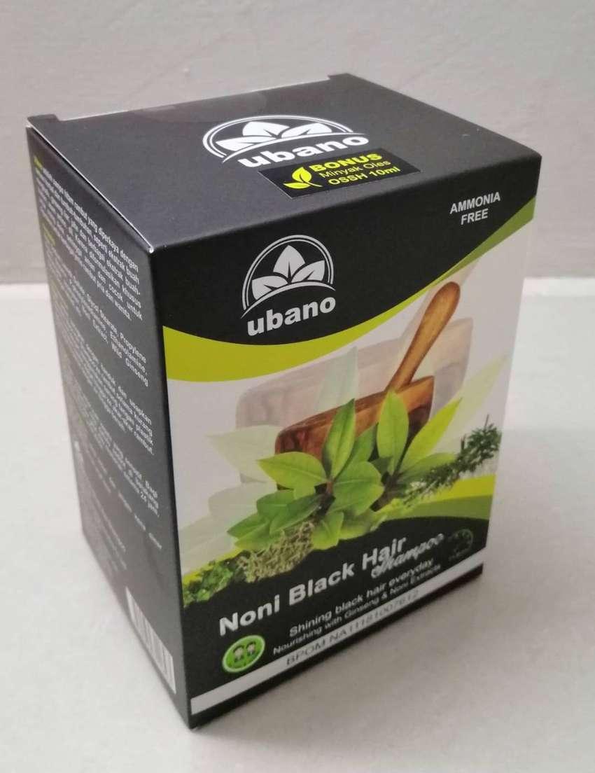 Shampoo Noni Ubano Menghitamkan Uban dalam 10 menit 0