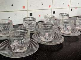 Cup and saucer set of 8