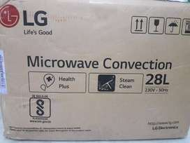 LG microwave oven convention