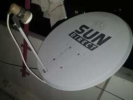 Sun direct DTH Antenna