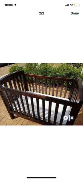 Strong and sturdy baby bed cot