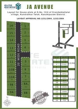Residential Plot for sale in Kovur