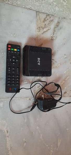 SCV SD Set Top Box