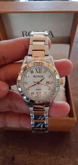 Jual cepat jam tangan cewek BONIA asli